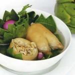 Cách chế biến món ăn dưỡng khí trợ tim, lợi gan lợi tiểu từ hoa Atiso