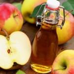 Dấm táo-rụng mụn cóc